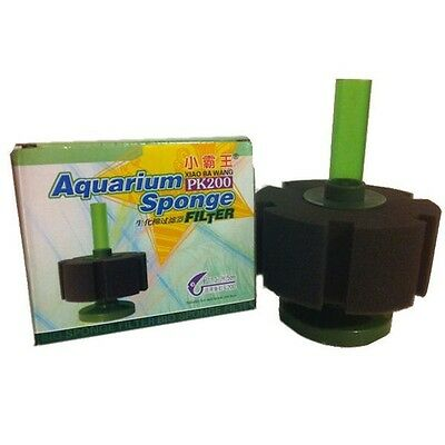 Medium Aquarium Fish Tank Sponge Filter PK200 ~ Aquariums up to 200 Litres FA021