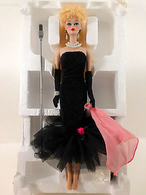 1990 Solo in the Spotlight Porcelain Barbie Doll - Limited Edition with Lingerie