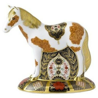 New Royal Crown Derby 1st Quality Limited Edition Epsom Filly Horse Paperweight