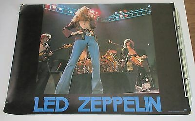 LED ZEPPELIN original JAPAN PROMO ONLY 1970s POSTER others listed WARNER PIONEER
