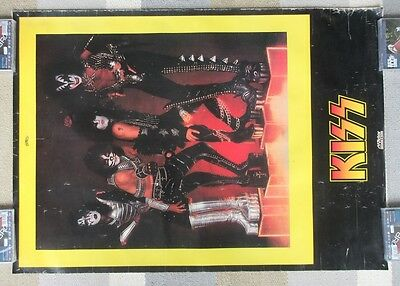 KISS Japan ORIGINAL Victor Records ALIVE II poster 1977 Gene Simmons MORE LISTED