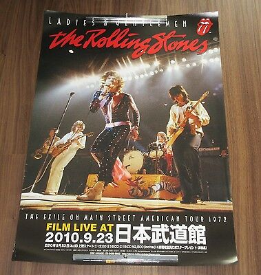 ROLLING STONES official JAPAN PROMO ONLY event POSTER L&G - more listed/in stock