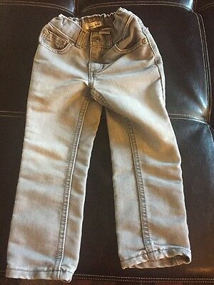 Toddler Boy Skinny Jeans Gray 4T Jumping Beans