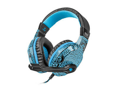 Professional Headphones For Gamers Fury Hellcat Led Backlight Headset