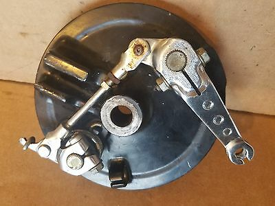 Yamaha Dual Front Brake drum
