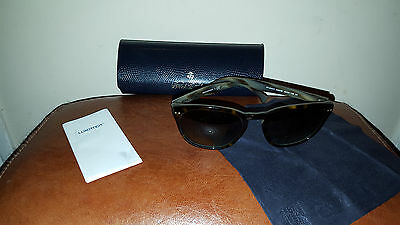Brooks Brothers Eyewear ClubMaster Tortoise Frame  Sunglasses Brand New Case
