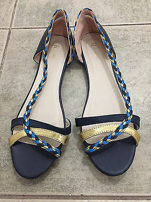 Brand New Ladies Flat Shoes/Sandals Size 7.5