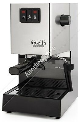 Gaggia Classic 2015 Espresso Machine - Brushed Stainless Steel