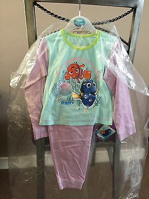 Baby Girl Disney Finding Dory Pyjamas 18/24 Months BNWT SALE