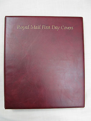 Royal Mail First Day Covers Album With 12 Pages