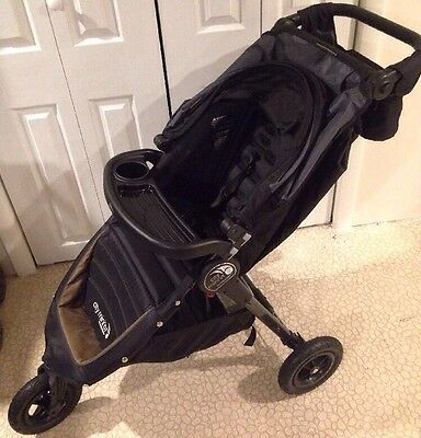 Baby Jogger City Mini GT Single Stroller with EXTRAS