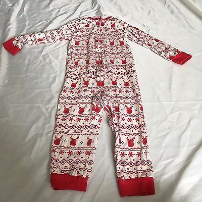 Boots Miniclub Christmas Pyjama Bodysuit - 3-4 Years - EXCELLENT CONDITION