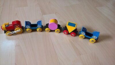 Disney Mickey Mouse Micky Maus Wooden Train Brio Holzeisenbahn Wooden Railway