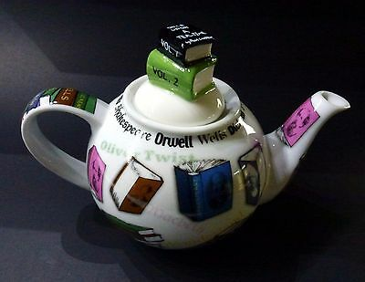 Paul Cardew Novel - Teapot Book Lovers Teapot For One