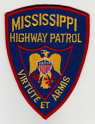 Mississippi Highway Patrol Police Patch Never Used Clean Free Shipping