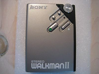 Vintage SONY WM-2 Stereo Walkman Cassette Player  - New Belt - Working Very Nice
