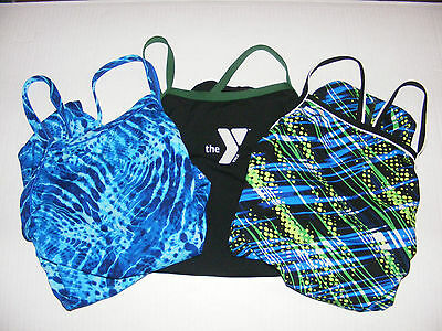 SPEEDO competition practice racer back women's size 32 one piece swimming suit
