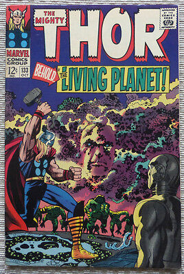 THE MIGHTY THOR #133, 1st FULL EGO - SILVER AGE CLASSIC, 1966