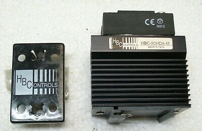 *NEW* HBC CONTROLS POWER CONTROLLER with CRYDOM RELAY HD4890 , HBC-90HDA-M