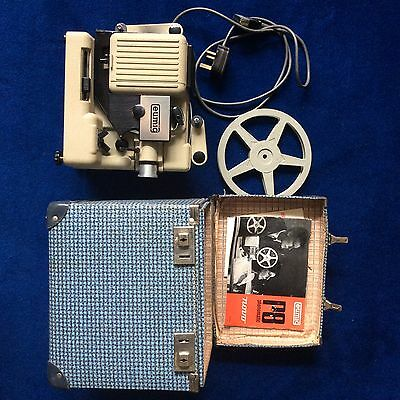 """Eumig P8  Phonomatic """"NOVO"""" Movie Projector for 8mm film In Carry Box"""
