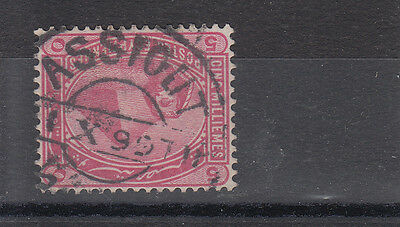 Egypt 1899 A Nice Assiout Use Of 5m SG63