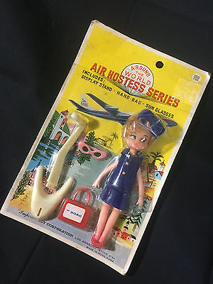 Old Vtg Around The World Air Hostess Series BOAC Imperial Toy Co. Los Angeles