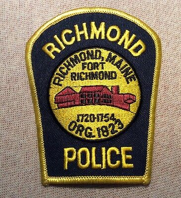ME Richmond Maine Police Patch