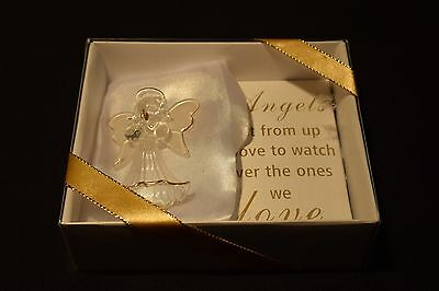Boxed Glass Angel