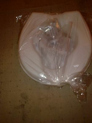 """New Raised Toilet Seat Without Lid 2""""  Mobility Aid Easy Fit White"""