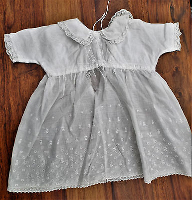Vintage Baby Dress Embroidery/lawn