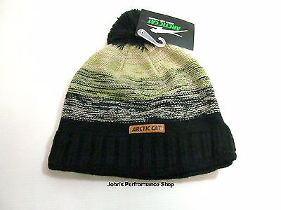 Arctic Cat Forest Green Pom Beanie Hat 5283-114