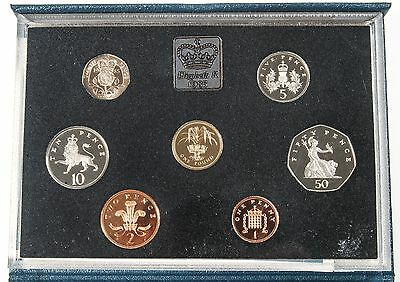 1985 Great Britain Royal Mint 7-Coin Proof Set #108848 X