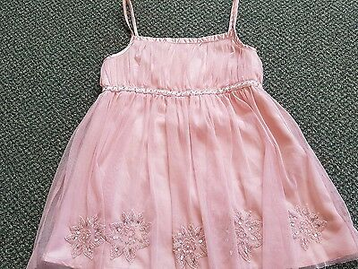 Girls Next Party pink Top Age 9 years