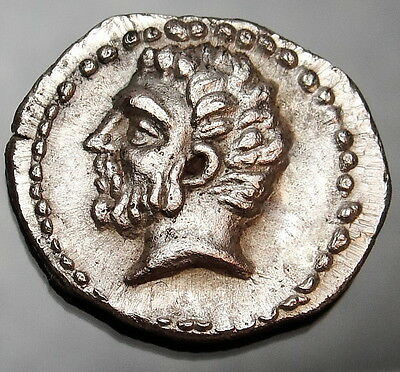 KINGS OF THRACE Odrysian. Kotys I. EXTREMELY RARE Ancient Greek Coin.Masterpiece