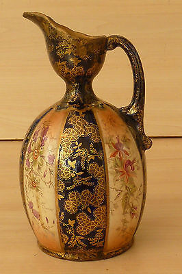 Early Crown Derby/Vienna Pottery? Jug