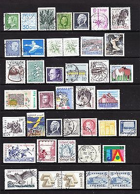 A Selection of Sweden Stamps (m31-a21)