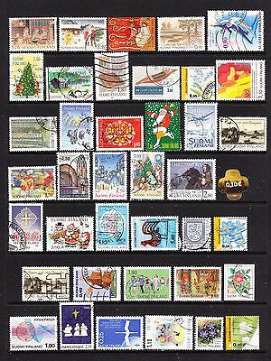A Selection of Finland Stamps (m32-b4)