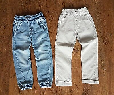 Boys Chinos And Jogger Jeans Age 4-5 *excellent Condition*