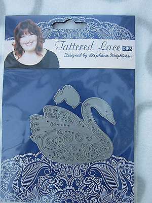Tattered Lace Die - Swan and Signet - New