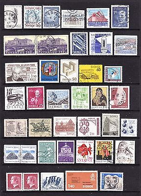 A Selection of Sweden Stamps (m33-a21)