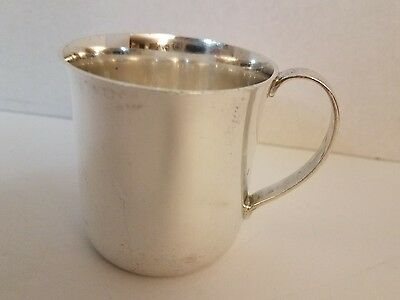 Tiffany and Co. Sterling Silver Baby Cup
