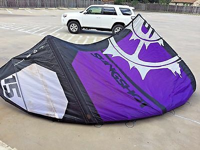 Slingshot Turbine 15m Kiteboarding Kite with bag...lots of light wind days left!