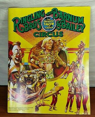 1979 Ringling Bros. and Barnum & Bailey Circus Program, 109th Ed. With Poster