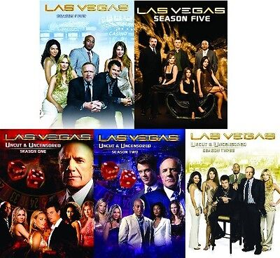 LAS VEGAS COMPLETE SERIES SEASON 1 2 3 4 5 New DVD