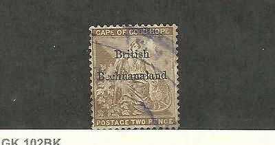 Bechuanaland, Postage Stamp, #7 Used, 1885