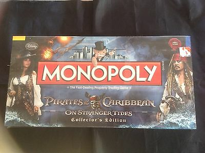 Pirates of the Caribbean On Stranger Tides Monopoly Edition by Hasbro