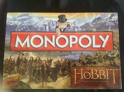 The Hobbit An Unexpected Journey  Monopoly Edition by Hasbro