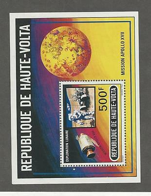 Burkina Faso, Postage Stamp, #294 Mint NH Sheet, 1973 Space