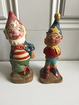 Noddy and Big Ears Rare vintage figures very old