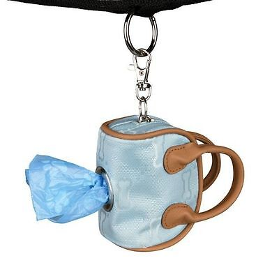 Dog mess  bag holder complete with roll of poop bags